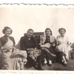 Jovens na costura anos 40 50