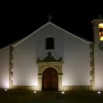 igreja de degolados à noite