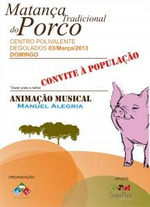 MATANÇA DO PORCO 2013.
