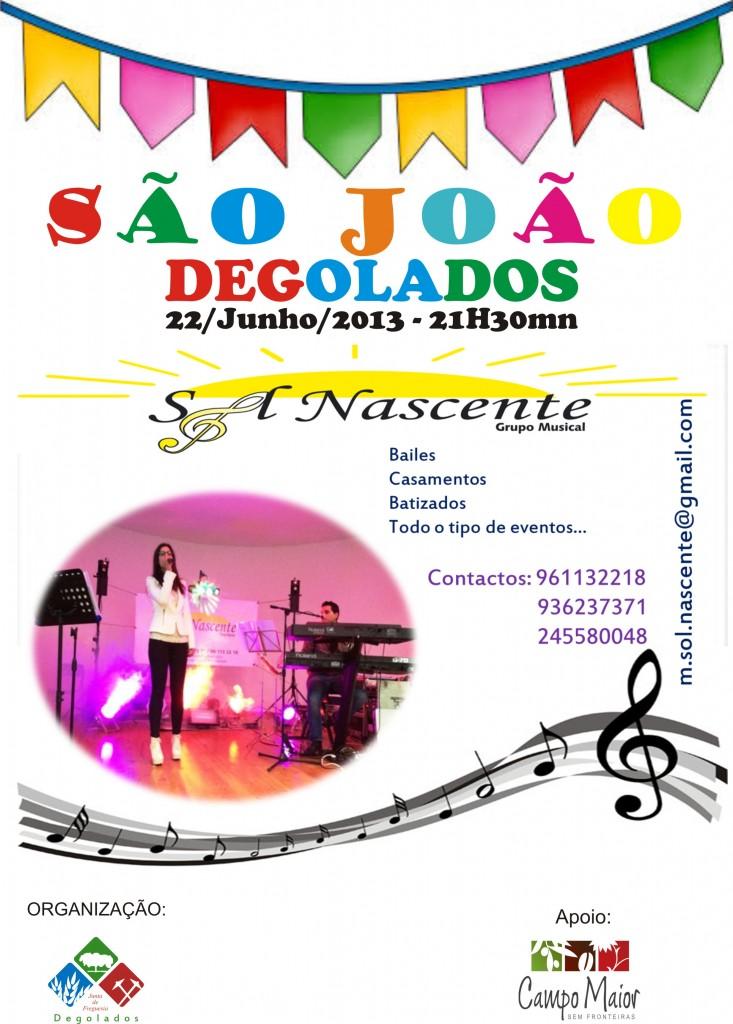 Cartaz S João 20132